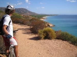 Mountain Bike Riding in Sand