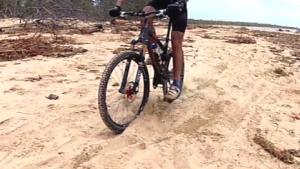 Mountain Biking in Sand