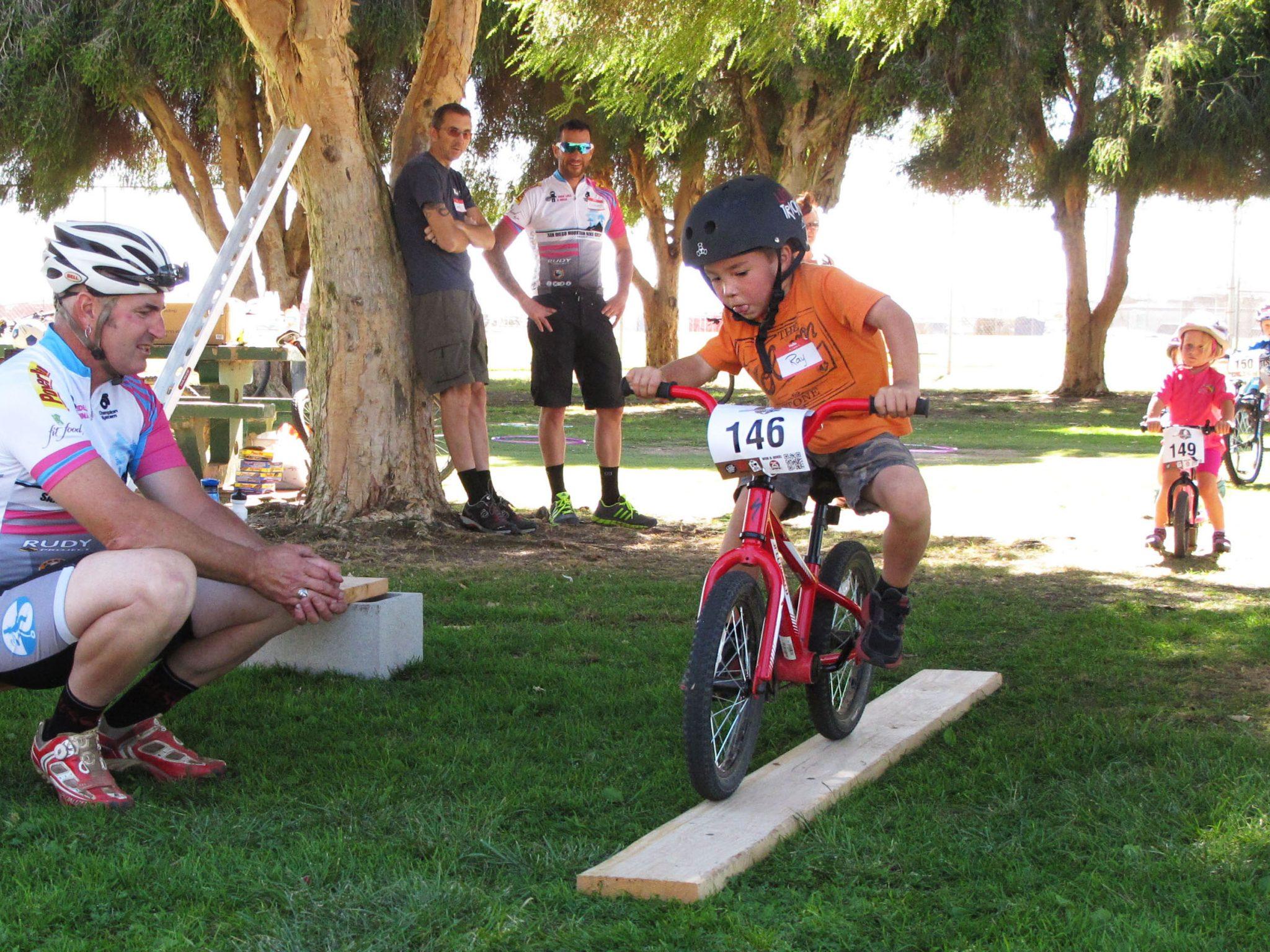 IMBA's Take a Kid Mountain Biking Day