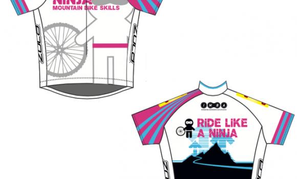 Ninja Mountain Bike Skills Jerseys Have Arrived