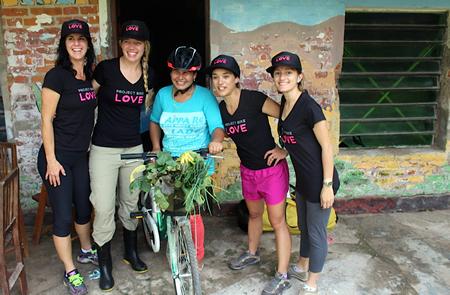Ninjas Support Project Bike Love