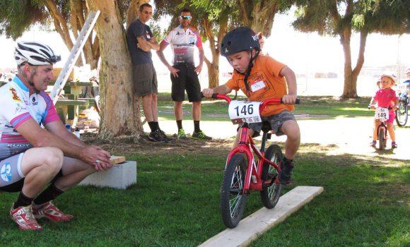 Take A Kid Mountain Biking Day with Ninja