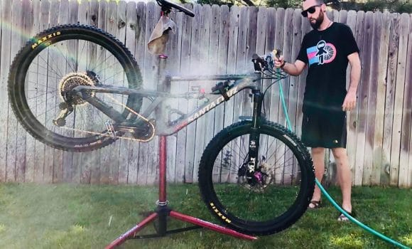 Ridin' Dirty? Clean Your Bike In 5 Easy Steps