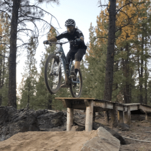How to Ride A Drop: Down/Back Technique
