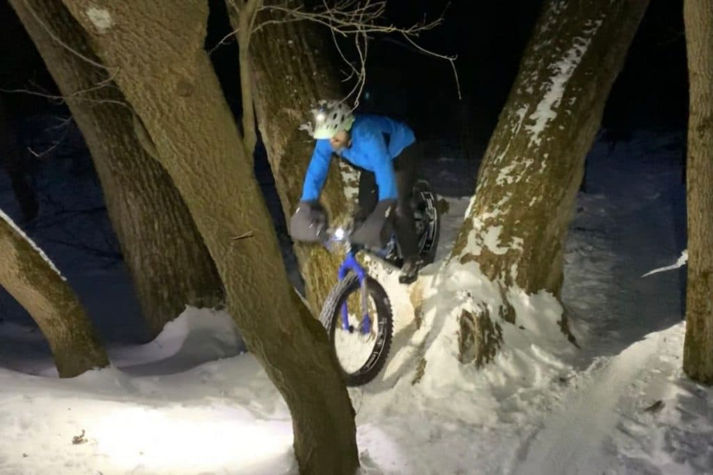 Winter Night Riding